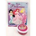 Livro: Coleção Disney Princesas - Lanche das Princesas 10 (Acompanha Pote com Tampa)