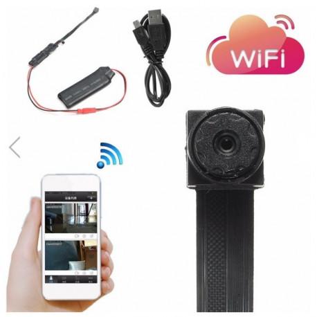 Mini Câmera de Vídeo para Monitoramento de Segurança com Múltiplas Funções Wifi T186 - 16 GB