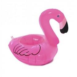 Boia Inflável Porta Copo - Flamingo