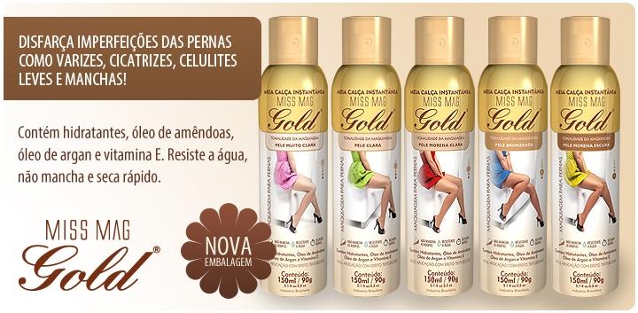 343378c76 Miss Mag Gold Meia Calca Liquida Instantanea - 150ml